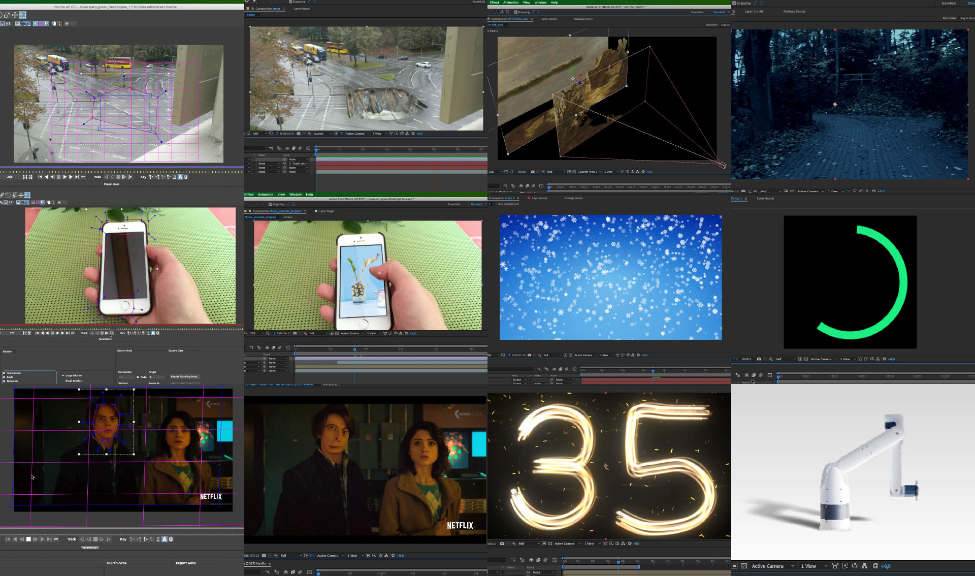 After Effects Class Recordings 2017 Q4